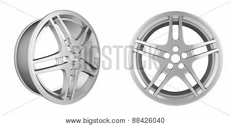 Set of automotive disc