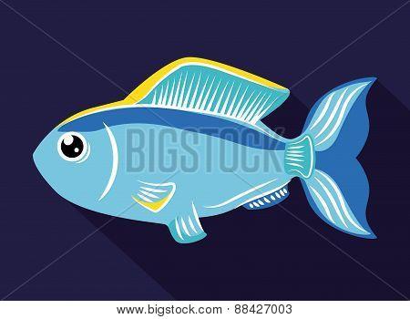 Fish design.