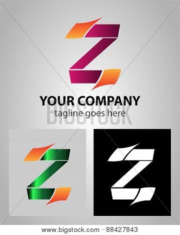 Alphabet icon - Z logo