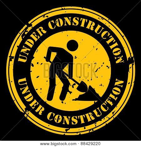 Yellow Under Construction Icon