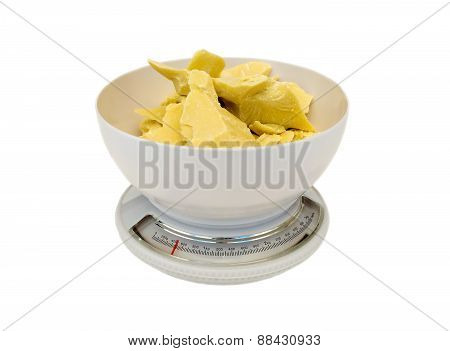 Weigh Cocoa Butter