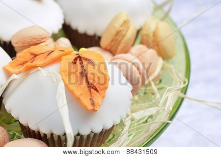 Cupcakes With White Icing
