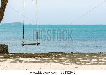 Swing On Beach
