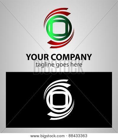 Set of Letter O logo