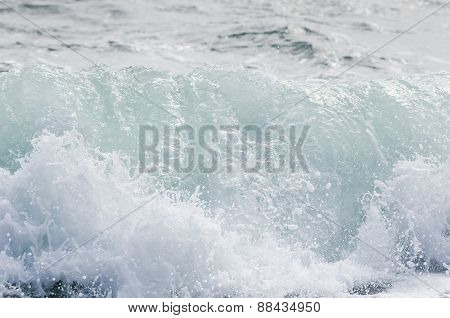 Wave And Blue Sea