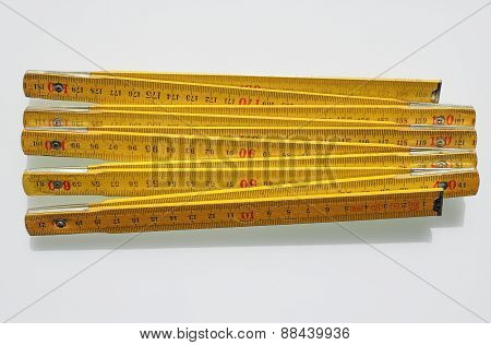 Imperial And Metric Ruler