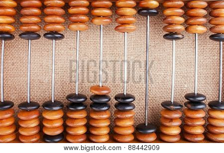 The Abacus On Burlap