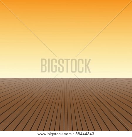 wood floorvector background