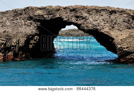 Natural Arch In Salinas