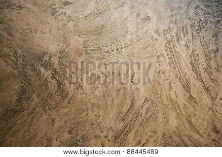 Texture Of Beige  Decorative Plaster Background