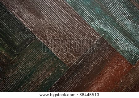 Vintage Oak Wood  Abstract  Rusty Colored Background