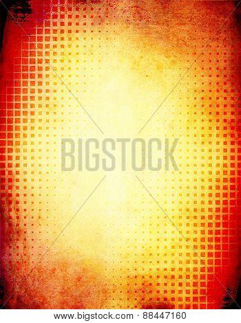 Hot Grunge Background