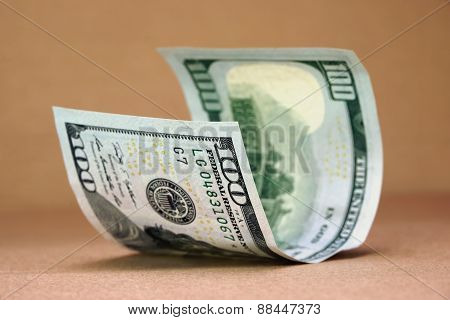New One Hundred Usa Dollar Bill