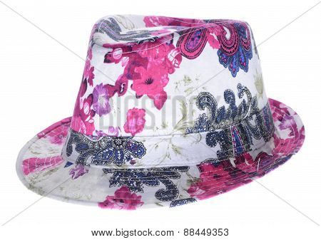 Bright Hat With A Brim