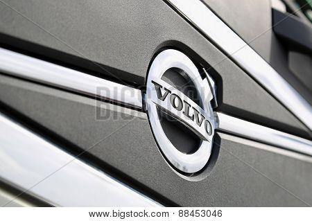 Volvo Symbol Close Up