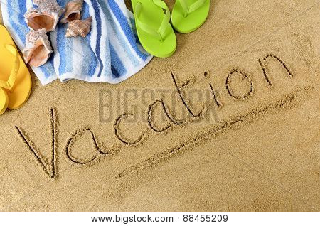Vacation Beach Background