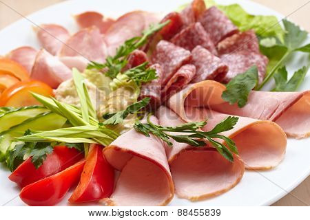 meat appetizer
