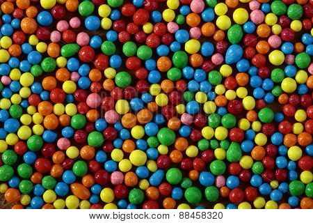 Colored Little Sweets Background