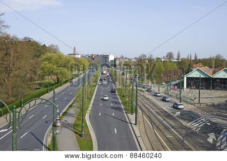 Avenue De Tervuren In Brussels
