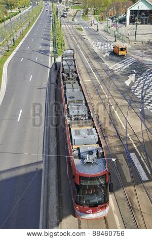 Tramway From Above