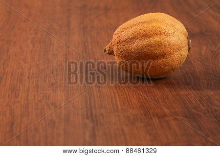 The Dry Single Lemon On The Wood