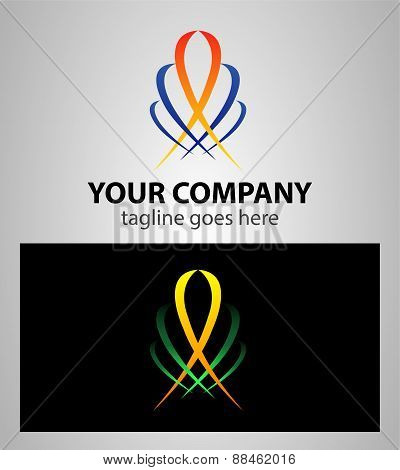 Abstract web Icon logo