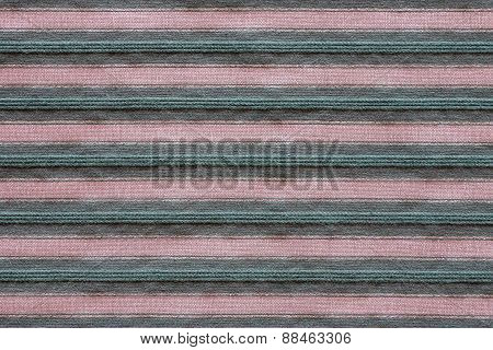 Horizontal Texture Of Striped Fabric