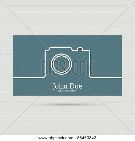 Trendy business card