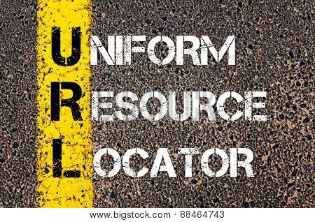 Business Acronym Url As Uniform Resource Locator