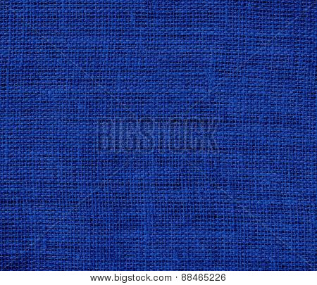 Burlap air force blue (usaf) texture background