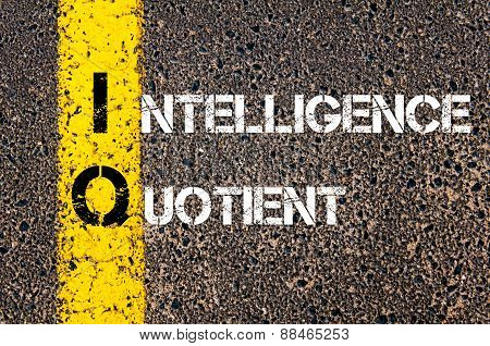 Acronym Iq As Intelligence Quotient