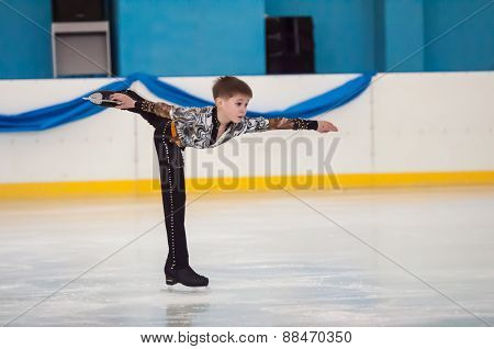 Boy In Figure Skating, Orenburg, Russia