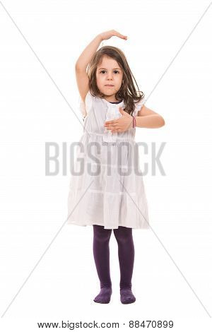 Dancing Little Girl