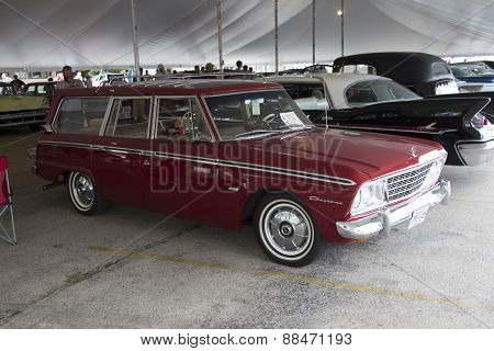 1964 Studebaker Wagonairre Car Side View