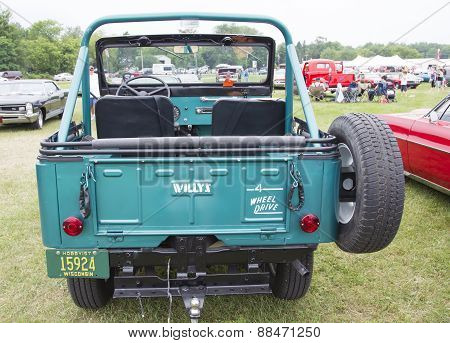 1965 Willys Jeep Rear View