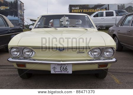 1966 Chevy Corvair Monza Front View