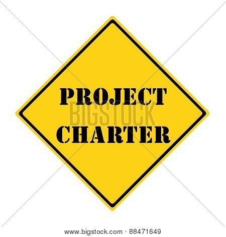 Project Charter Sign