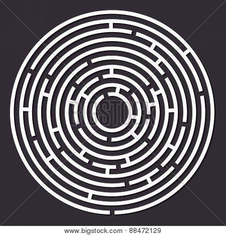Labyrinth round