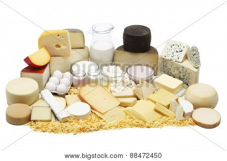 Assortded Dairy Products