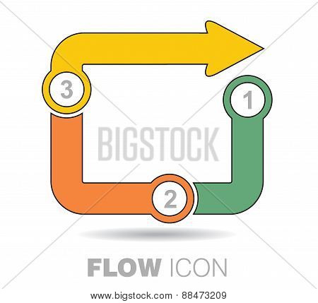 Business Flow Icon