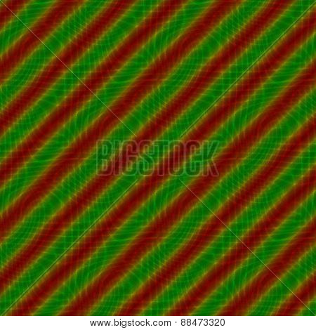 Red green oblique striped tile able background