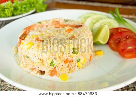 Shrimp Fried Rice, Thai Food