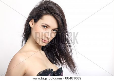 Girl With Bared Shoulders