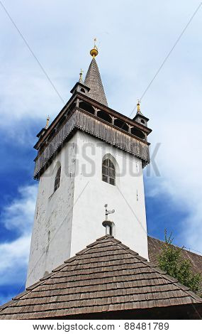 Reformed Church (Elizabethan Church Xiii C.), Khust, Ukraine