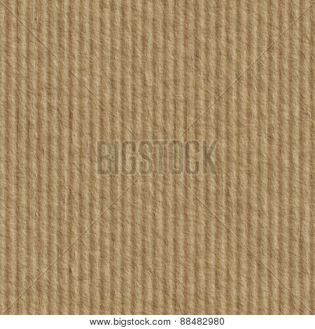 Seamless cardboard texture. Packaging paper background.
