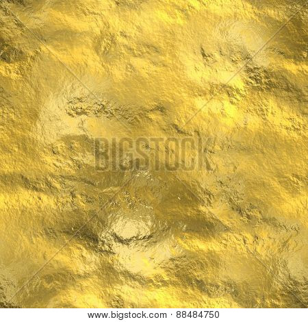 Seamless gold texture, abstract patterned background