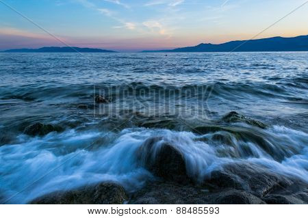 Spring Sea Waves