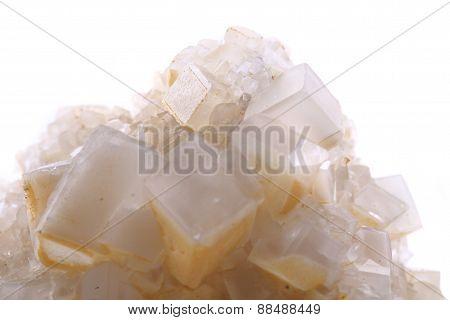 Limestone Cubes Isolated