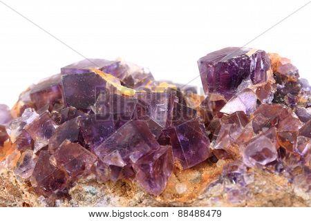 Violet Fluorite Cubes