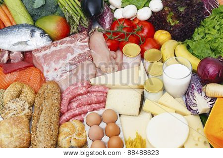 Assorted Food